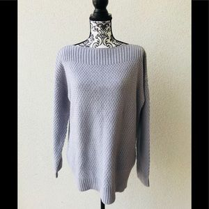 😍 NWT Lord&taylor gray oversized sweater M
